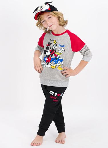 Mickey Mouse Eşofman Takım Gri